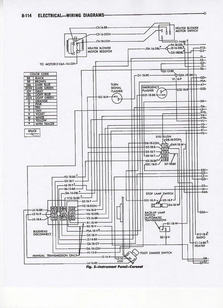 1965 pontiac gto vacuum diagram