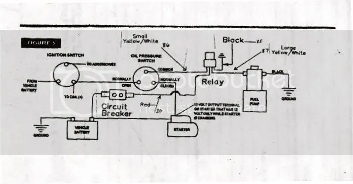 basic fuel pump wiring diagram