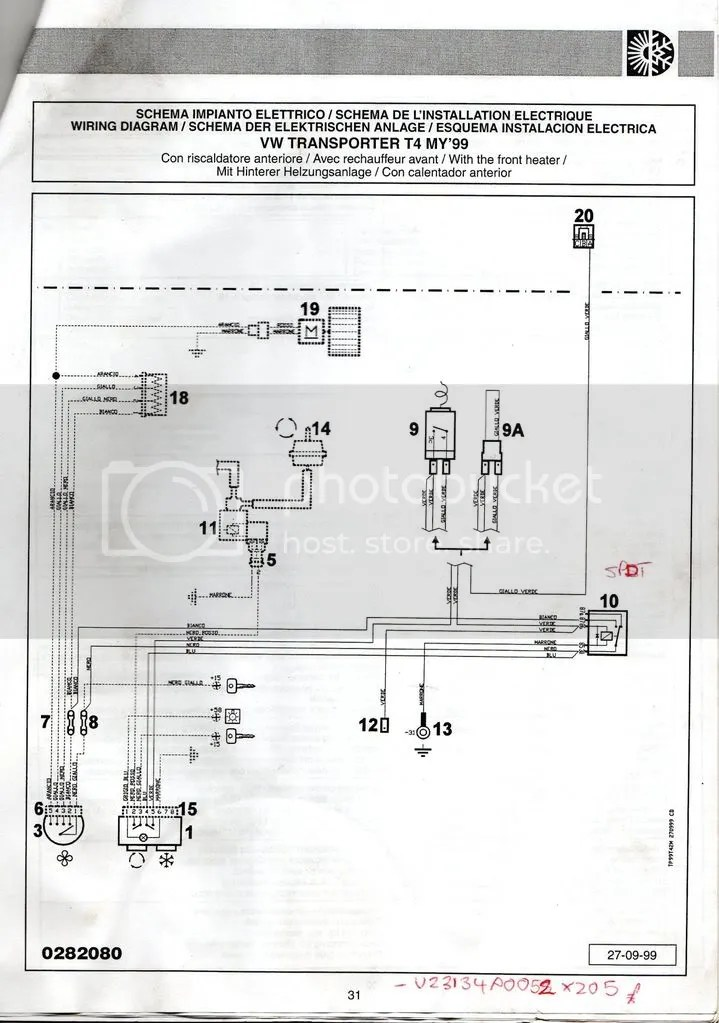 Vw T4 Air Con Wiring Diagram Online Wiring Diagram