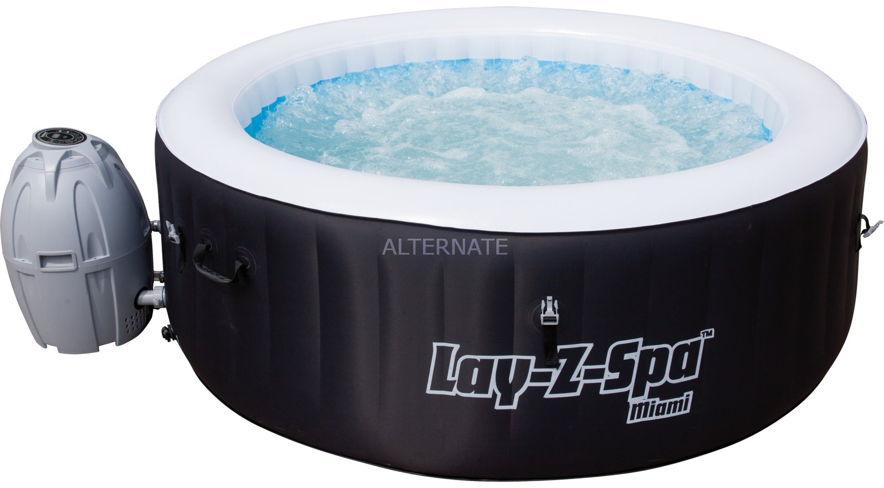 Aufblasbarer Pool Heizung Bestway Lay Z Spa Miami Whirlpool 54123
