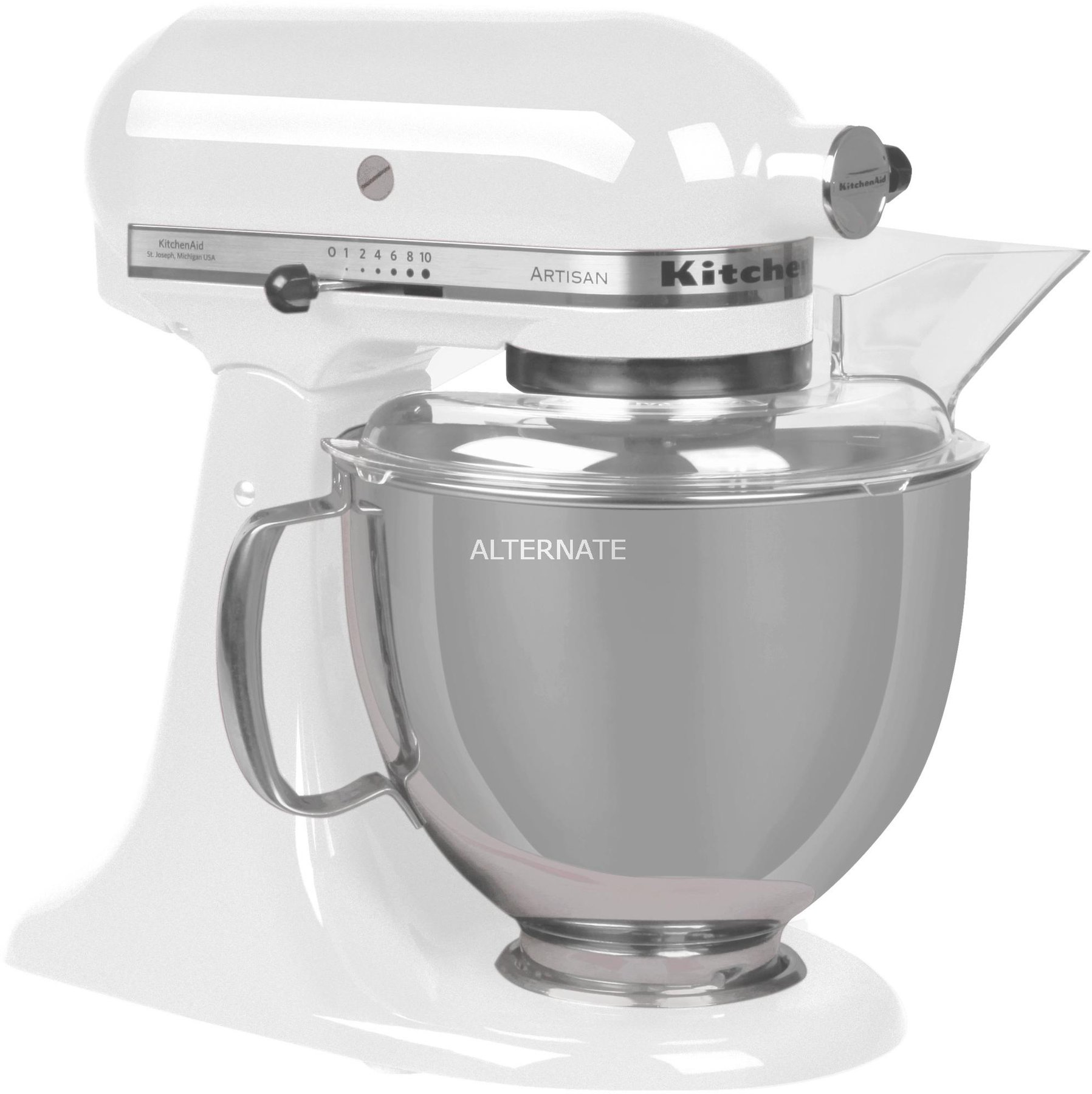 Kitchenaid Küchenmaschine Idealo Kitchenaid Artisan 5ksm175ps Ewh Weiß