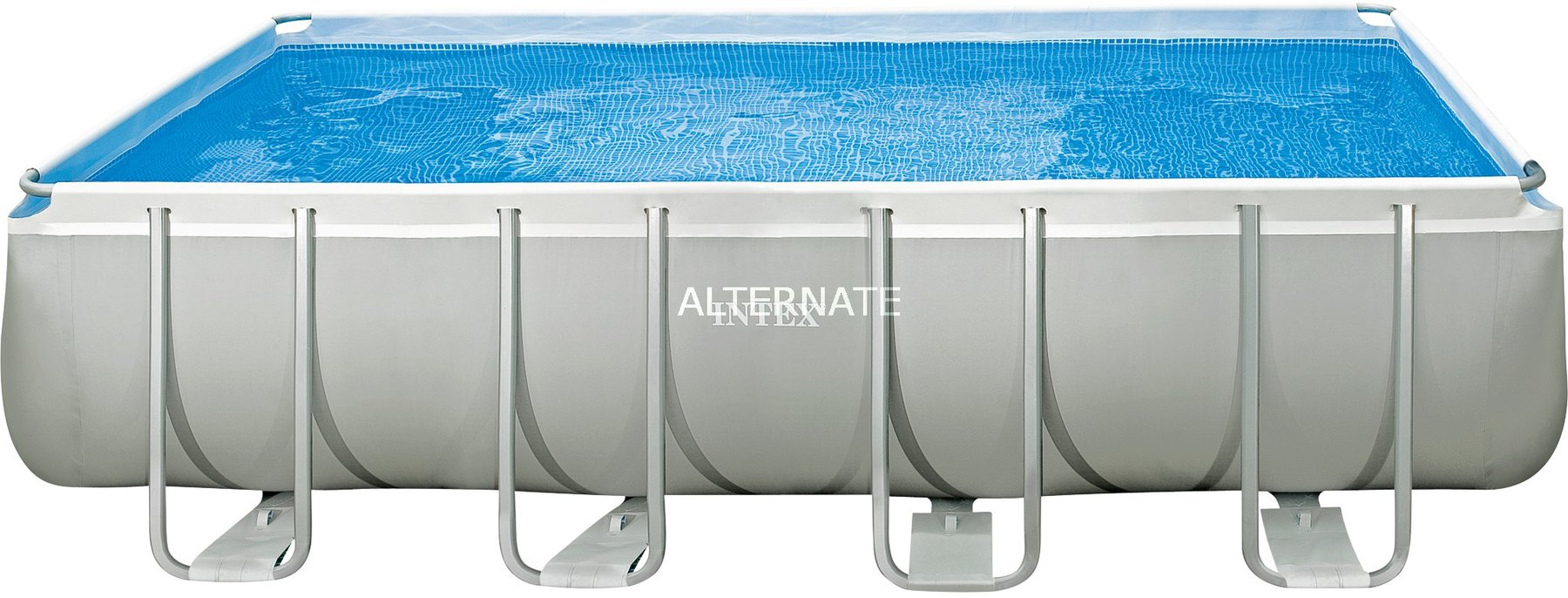 Pool Filterpumpe Lautstärke Intex Pools Ultra Frame Pool Quadra 549 X 274 X 132 Cm Mit Sandfilter Komplett Set 28352