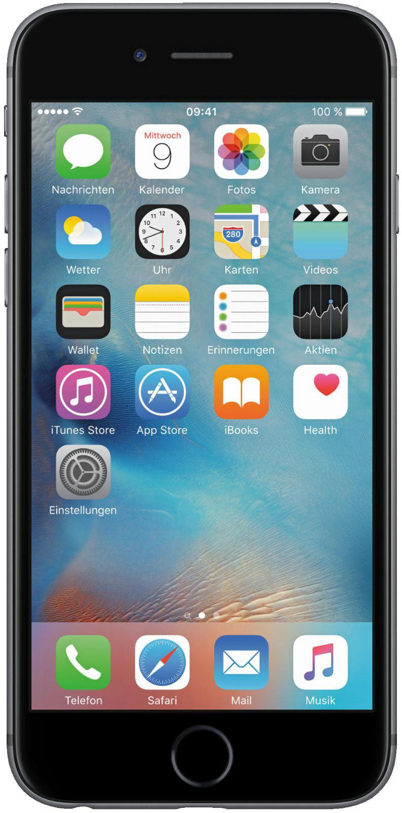 Smartphone Libre Media Markt Apple Iphone 6 32gb Spacegrau Ohne Vertrag