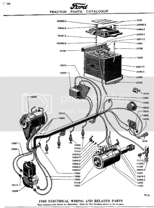 600 Ford Tractor Generator Wiring Diagram Wiring Schematic Diagram