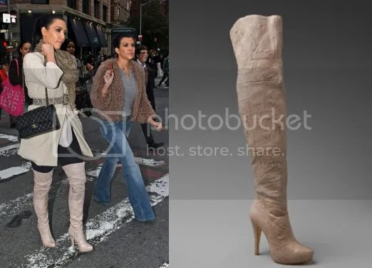 Kim Kardashian In Over The Knee Boots Steal The Style
