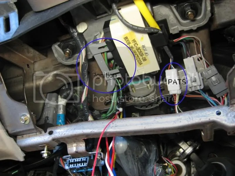 My Remote Starter Install - Taurus Car Club of America  Ford Taurus