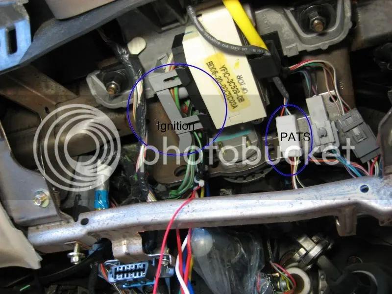 remote starter ford taurus wiring diagram