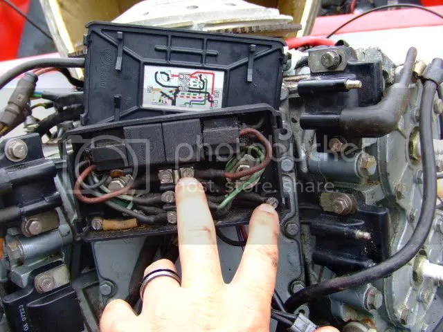 OMC Tech Anyone with tilt / trim diagram for 1983 115? Maybe manual