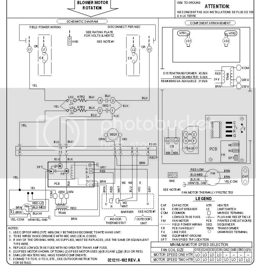 Ac Control Schematic Wiring Diagram