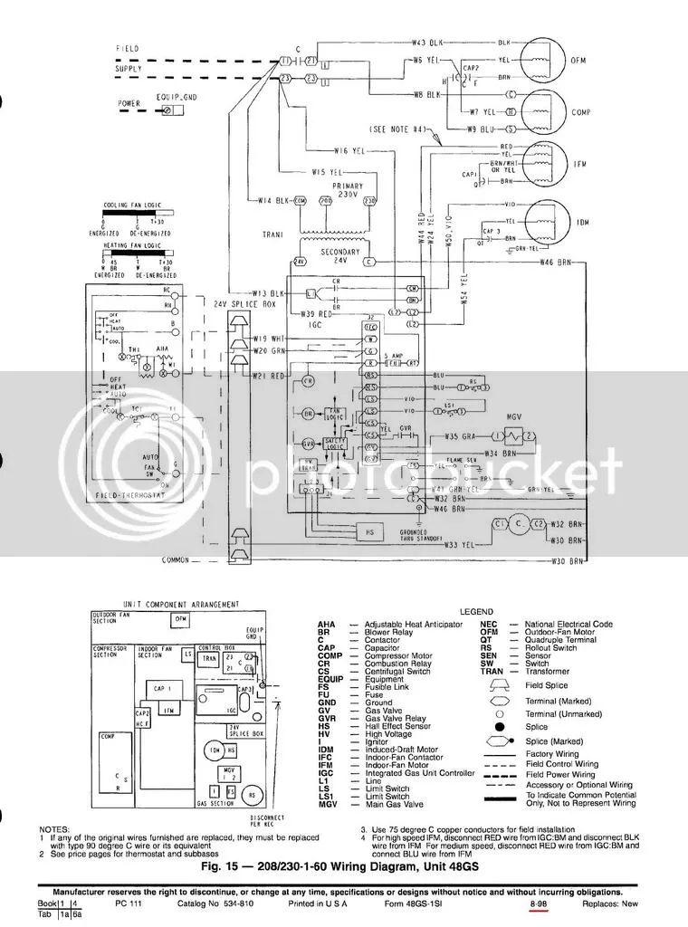 trane economizer wiring diagram