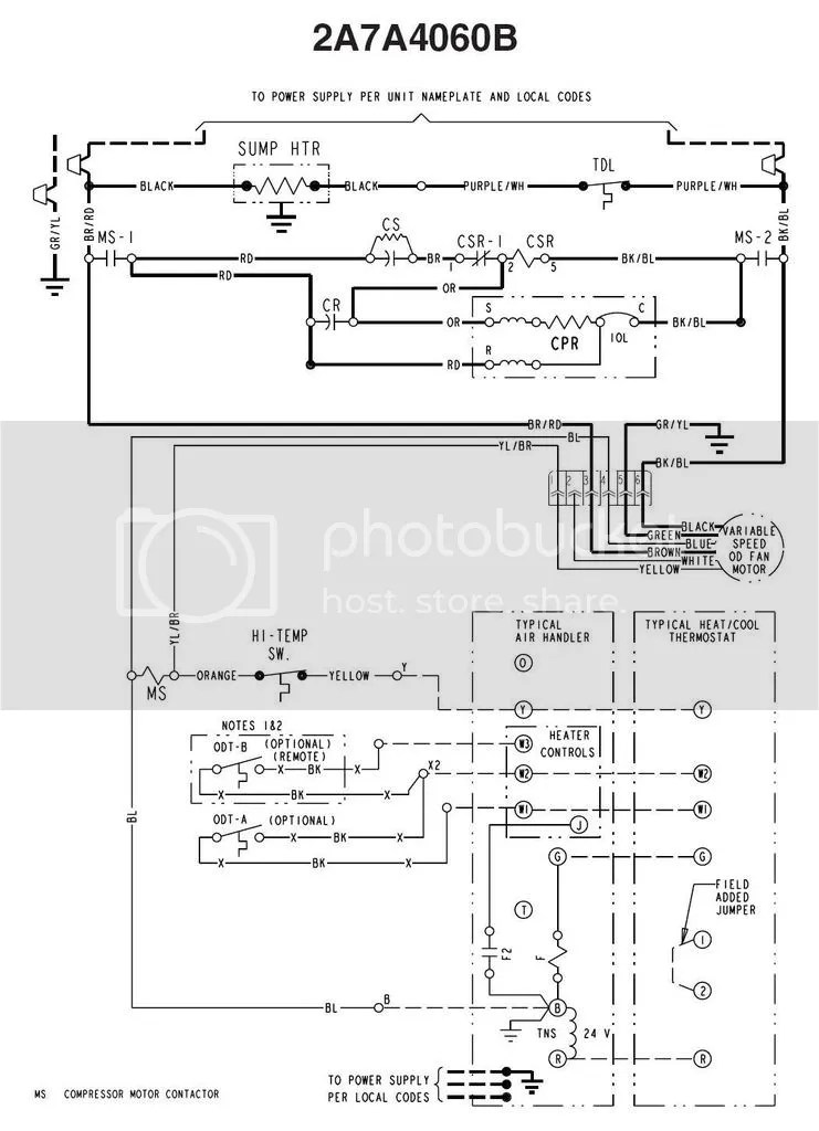 American Standard Air Conditioner Wiring Diagram Wiring Schematic