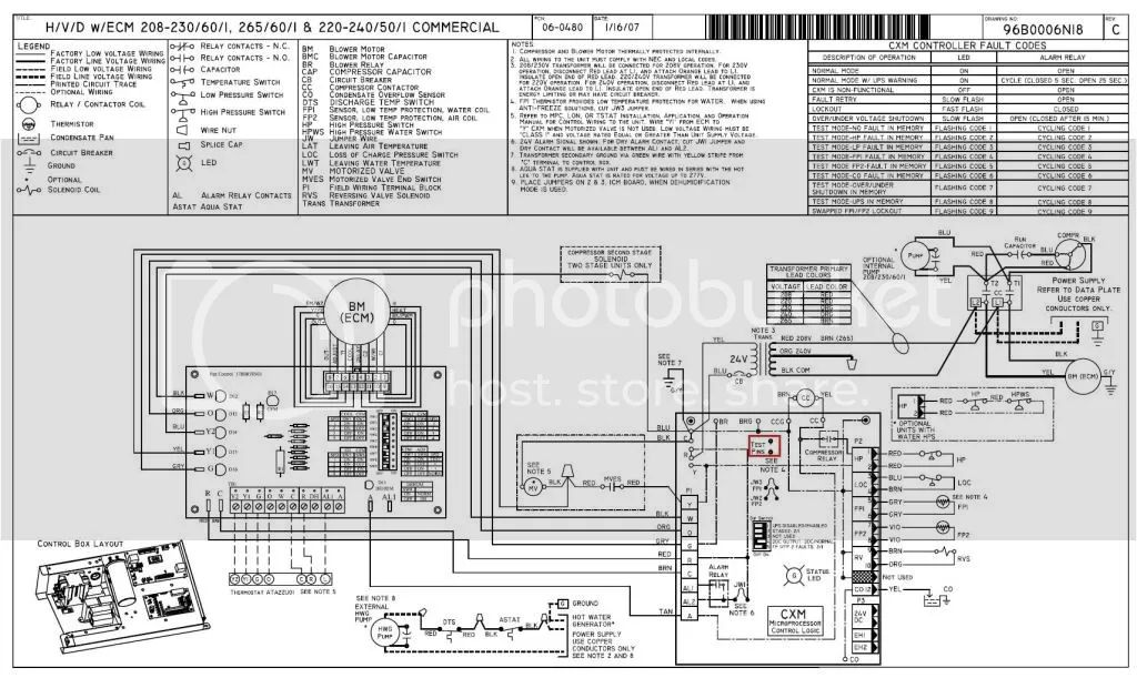 climate master wiring diagram