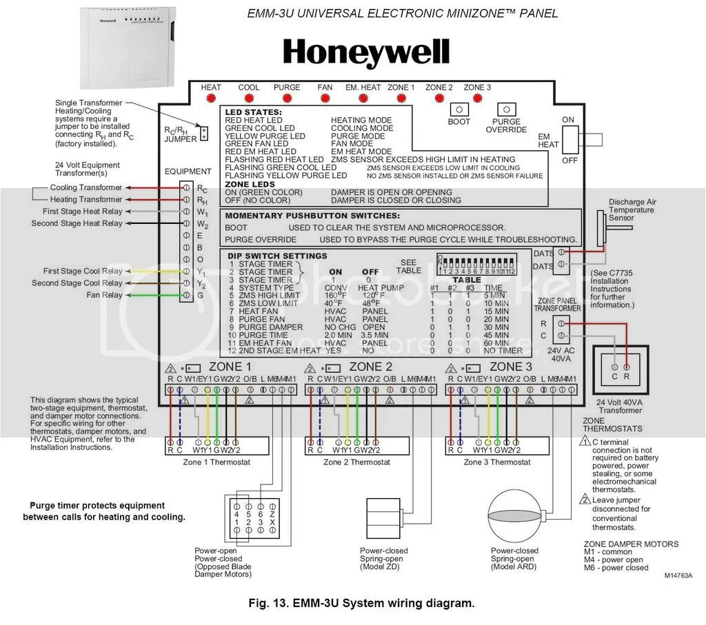 honeywell thermostat wiring color code thermostat wiring help