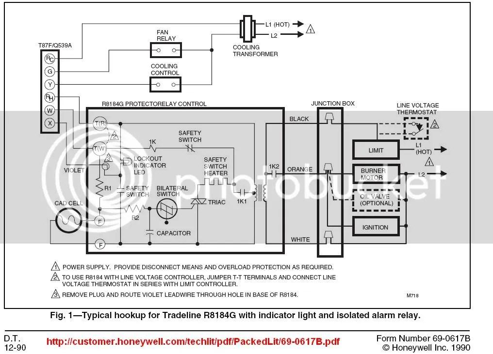 Honeywell Fan Control Center Wiring Diagram - Wiring Diagram Write