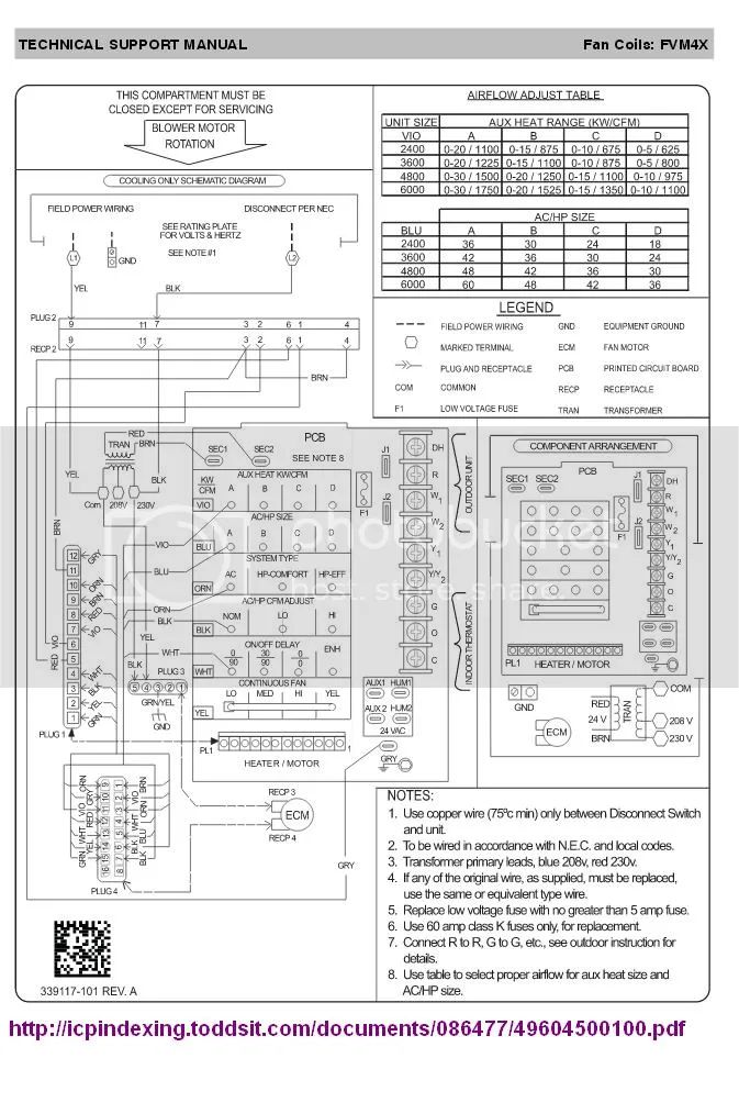arcoaire wiring diagram