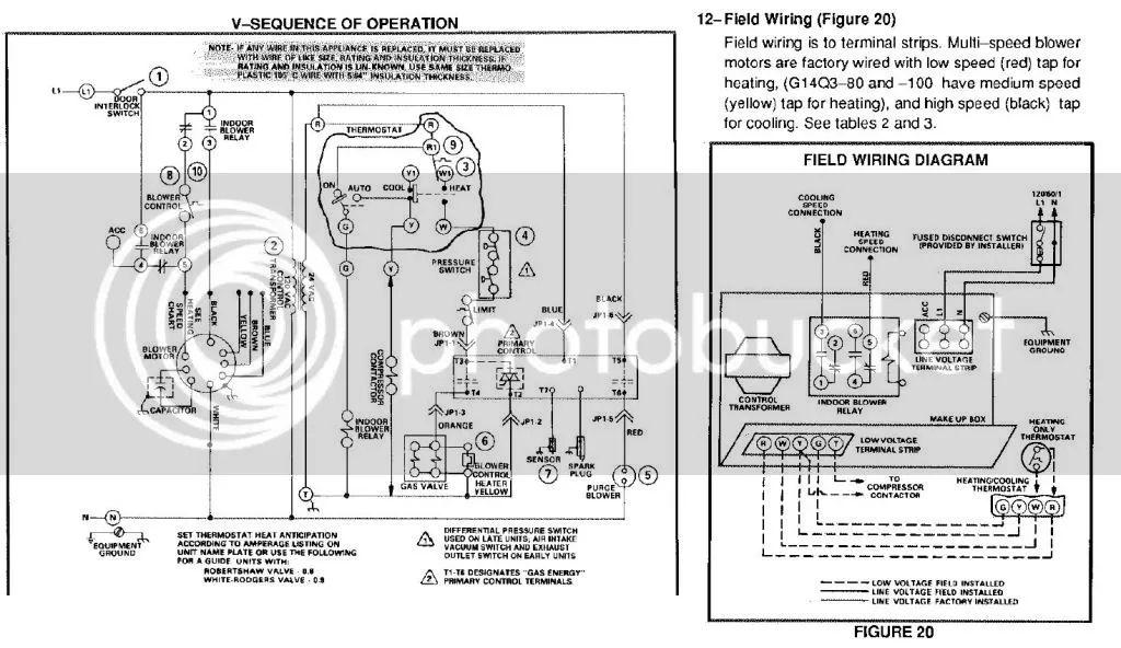 Furnace Blower Motor Wiring
