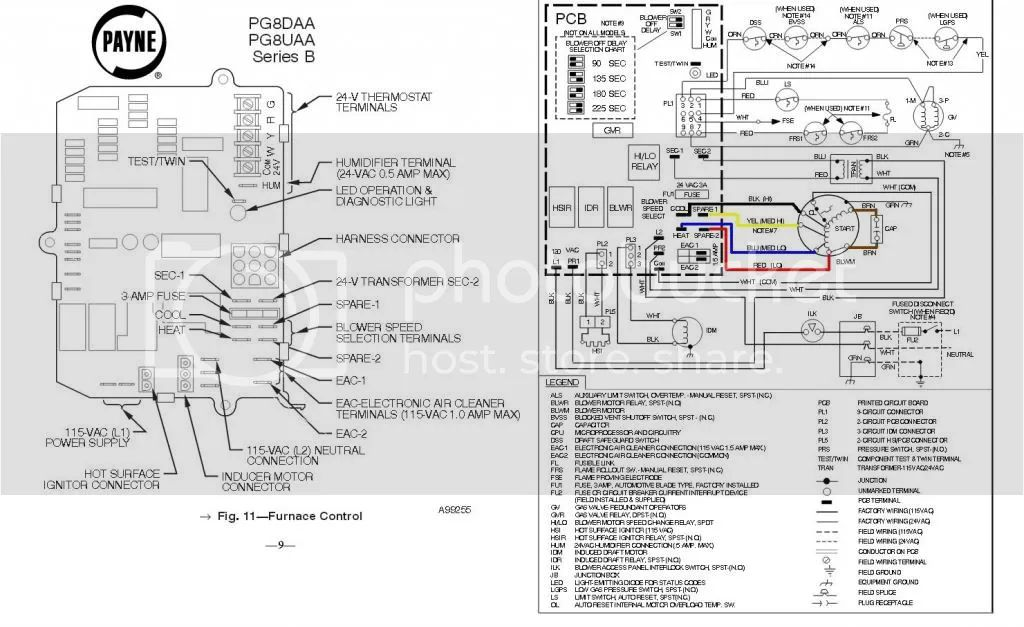 furnace wiring diagram besides air conditioner motor wiring diagram