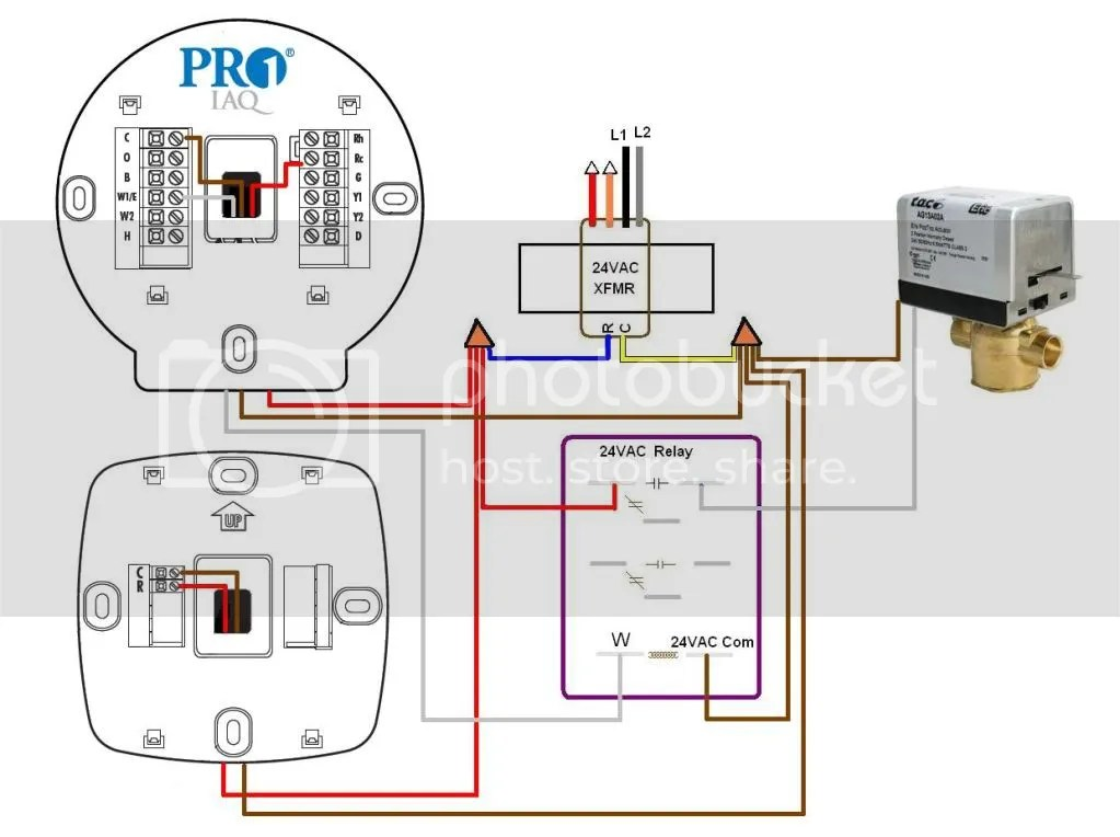 pro1 thermostat wiring diagram wire management \u0026 wiring Thermostat Wiring Color Code