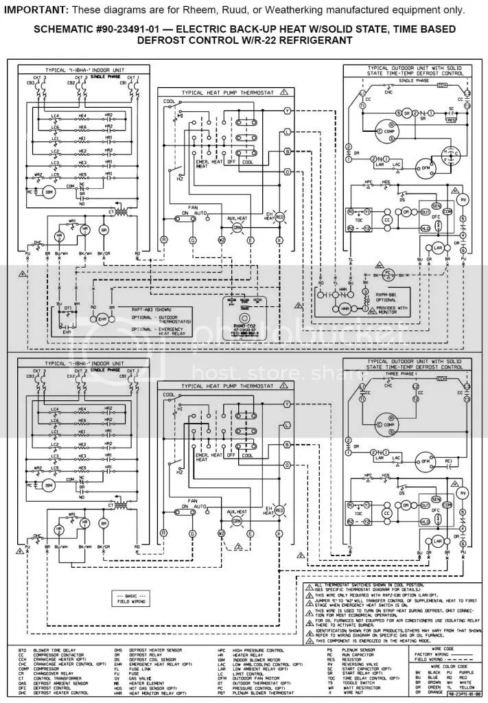 Rheem Wiring Diagram technical wiring diagram