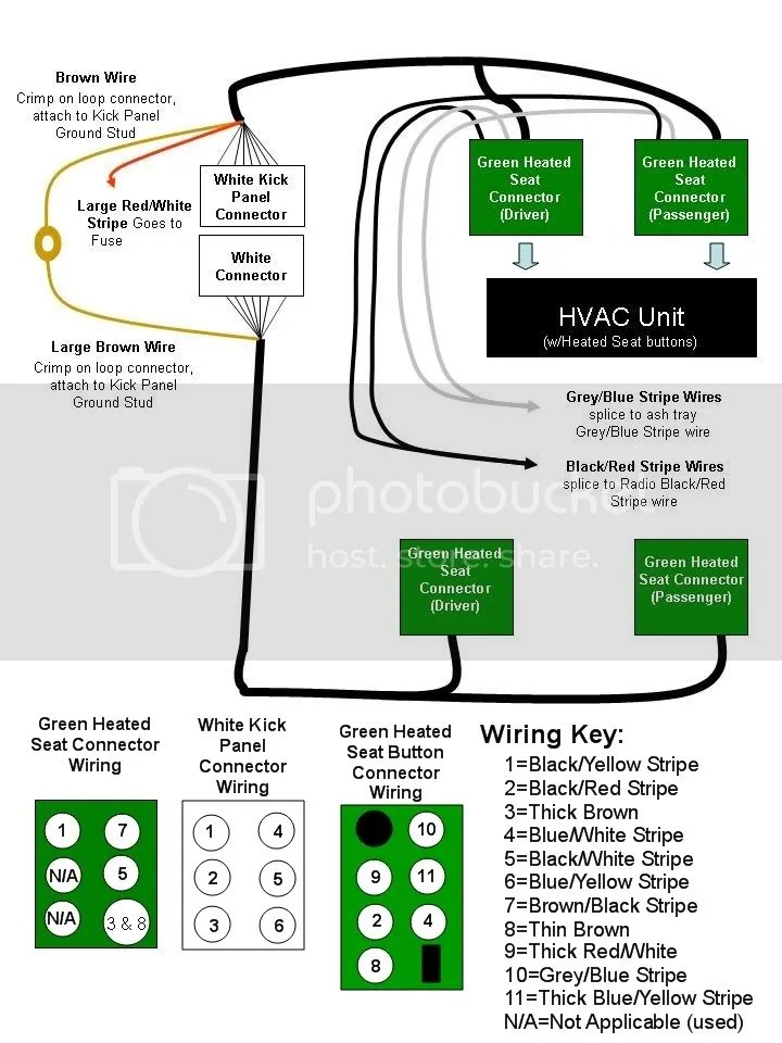 Wiring Diagram For Heated Seats Wiring Diagram