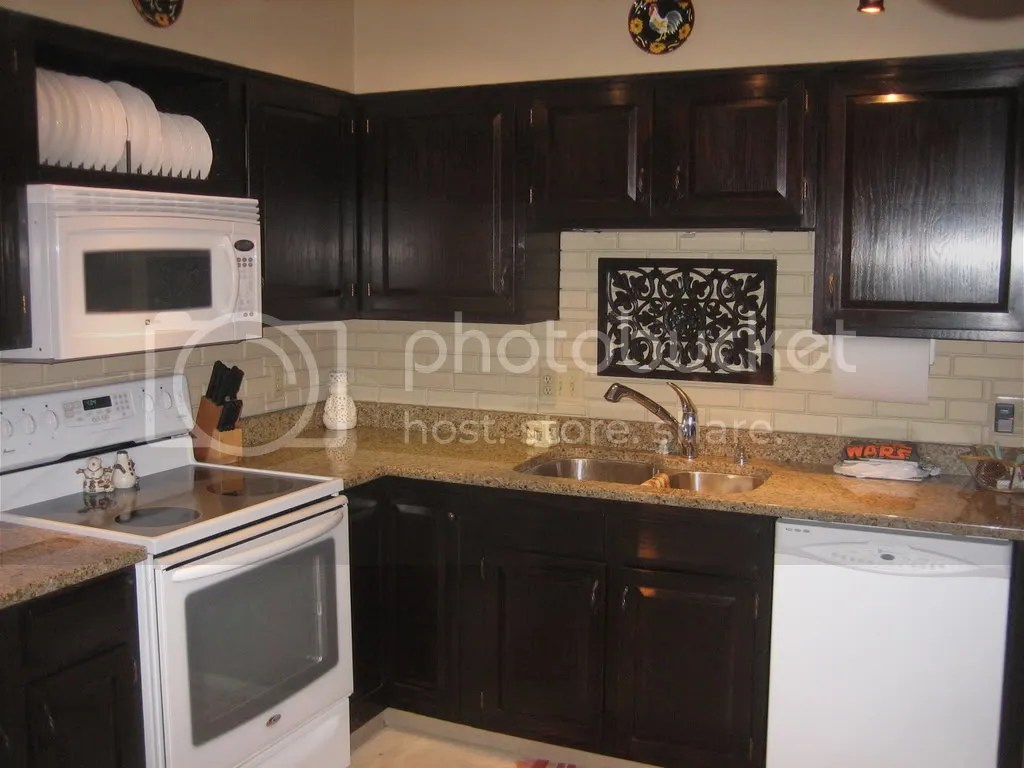 Oak Kitchen Cabinets Dark Stain Have You Gel Stained Your Oak Cabinets
