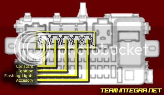 DRL and Foglights Wiring Diagram Help ClubIntegra - Acura
