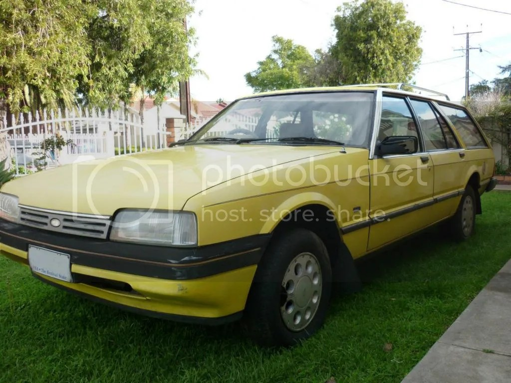 The Quotbig Birdquot Yellow Xf Fairmont Wagon New Member