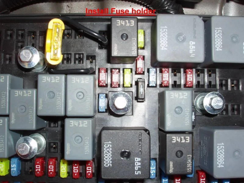 Chevy Hhr Fuse Box Diagram Electrical Circuit Electrical Wiring