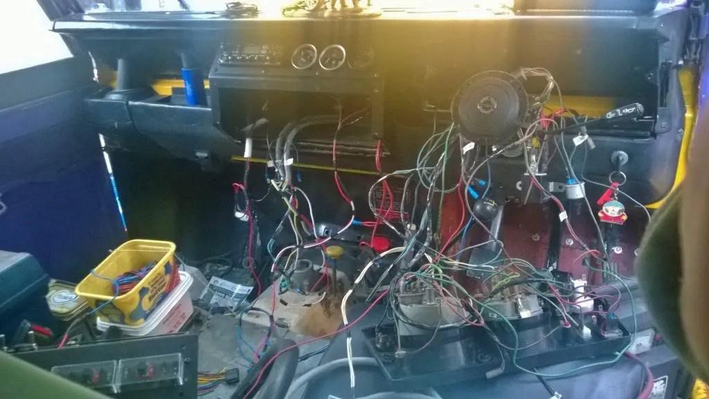 Discomikey\u0027s Custom Series III wiring harness design - Modified