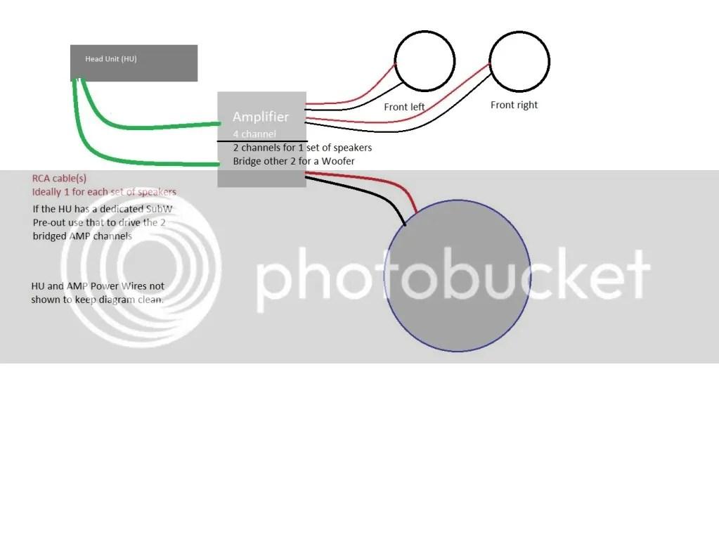 2 speakers wiring diagram wiring diagrams for car speakers the