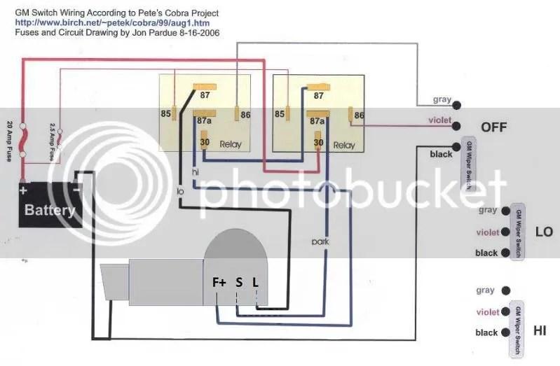 Gm Wiper Motor Wiring Wiring Diagram 2019