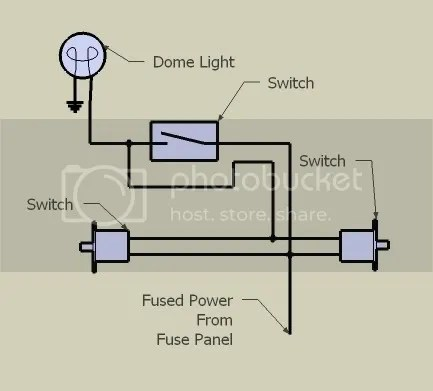 Dome Light Wiring Diagram - Data Wiring Diagram Update