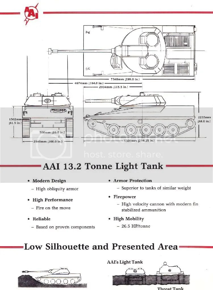 AAI Corporation Rapid Deployment Force Light Tank Brochure - Cover - civil service exam application form