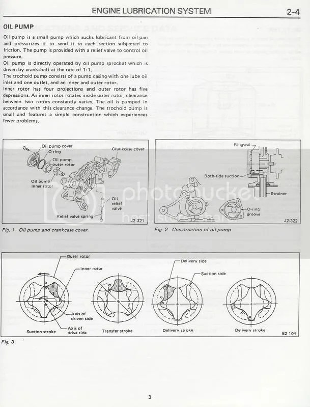 Low Oil Pressure/Oil Pump Information Original Subaru Justy Forum
