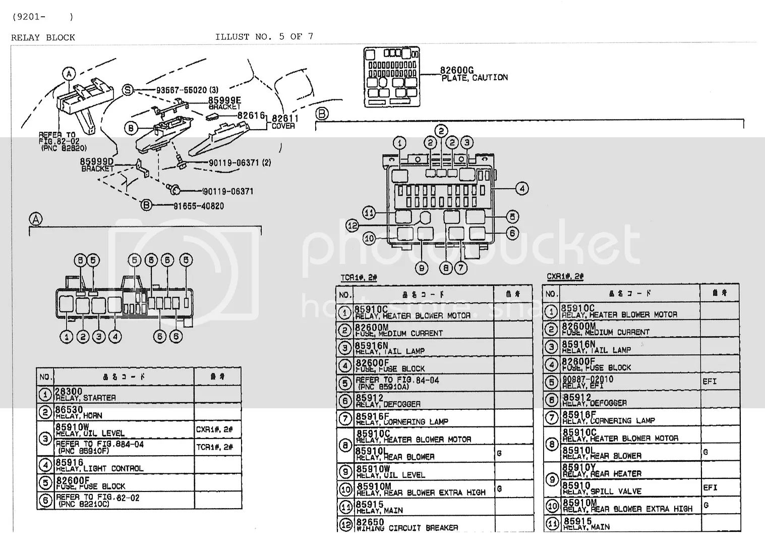 English Fuse Box Auto Electrical Wiring Diagram Relays Surprising Toyota Estima Layout In Ideas
