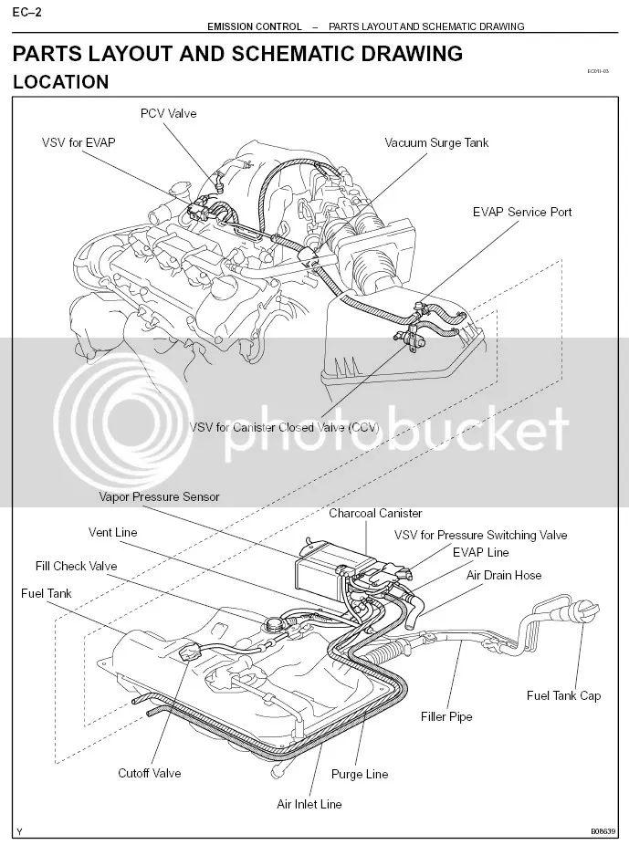 diagram of a 16 l toyota motor