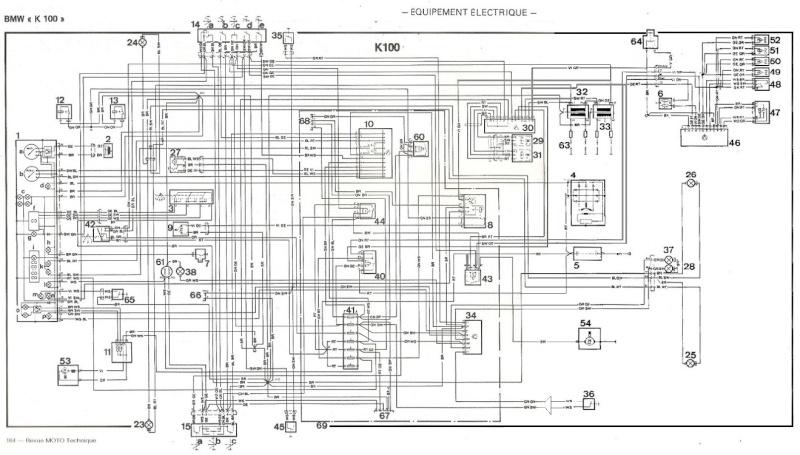 bmw k 100 schema cablage