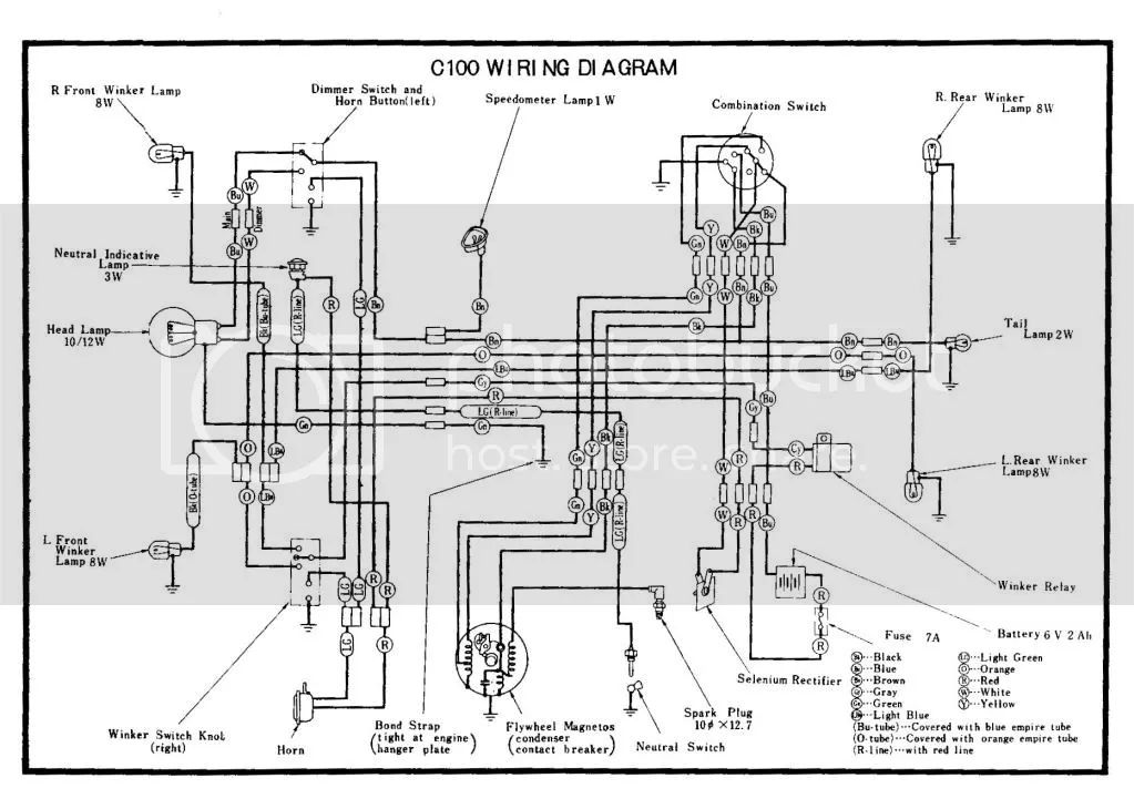 1963 honda ca 95 engine diagram