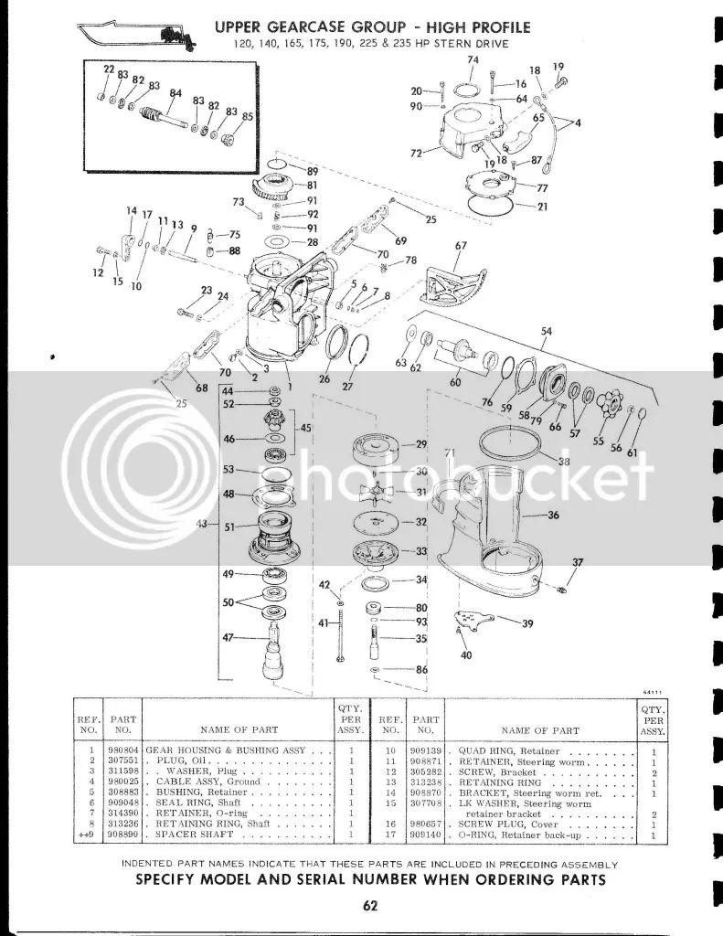 wiring diagram omc 115 turbojet