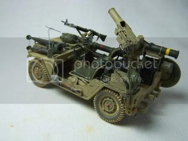 IDF M151A2 (Ford MUTT) w/TOW Launcher Done w/Lots of pix - FineScale