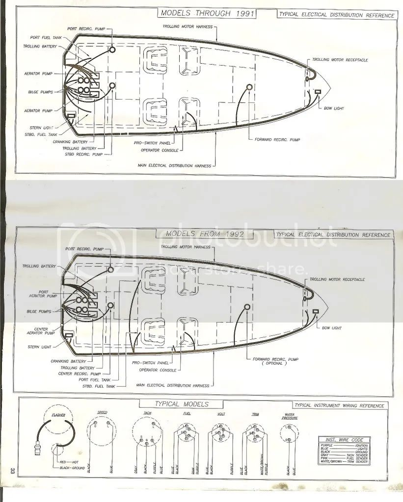 voyager pontoon boat wiring diagram