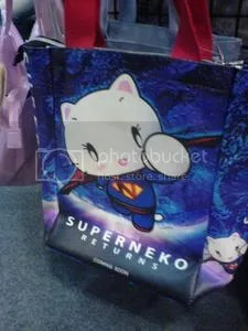 Superneko Superman Hello Kitty handbag