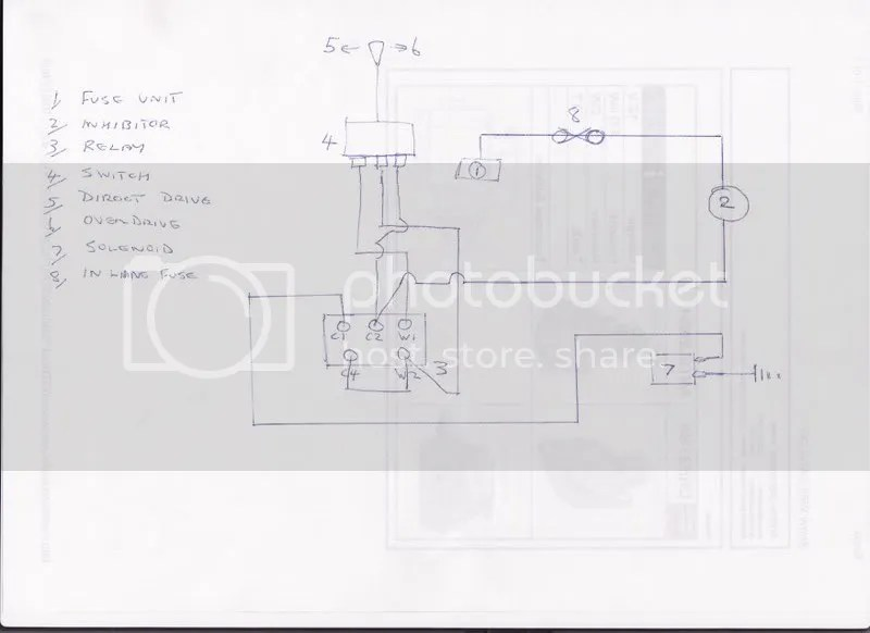 Overdrive Wiring Diagram Control Cables  Wiring Diagram