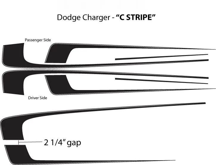 2012 dodge avenger decals