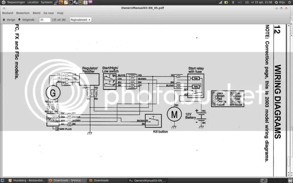 Husaberg 570 Wiring Diagram - Njawwajwiitimmarshallinfo \u2022