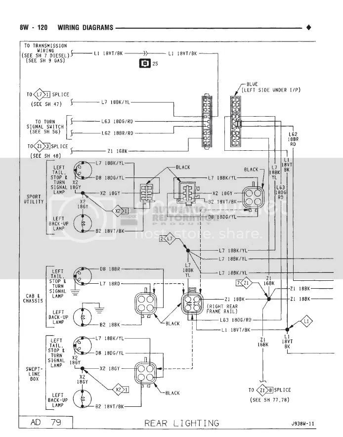 dodge flatbed wiring diagrams