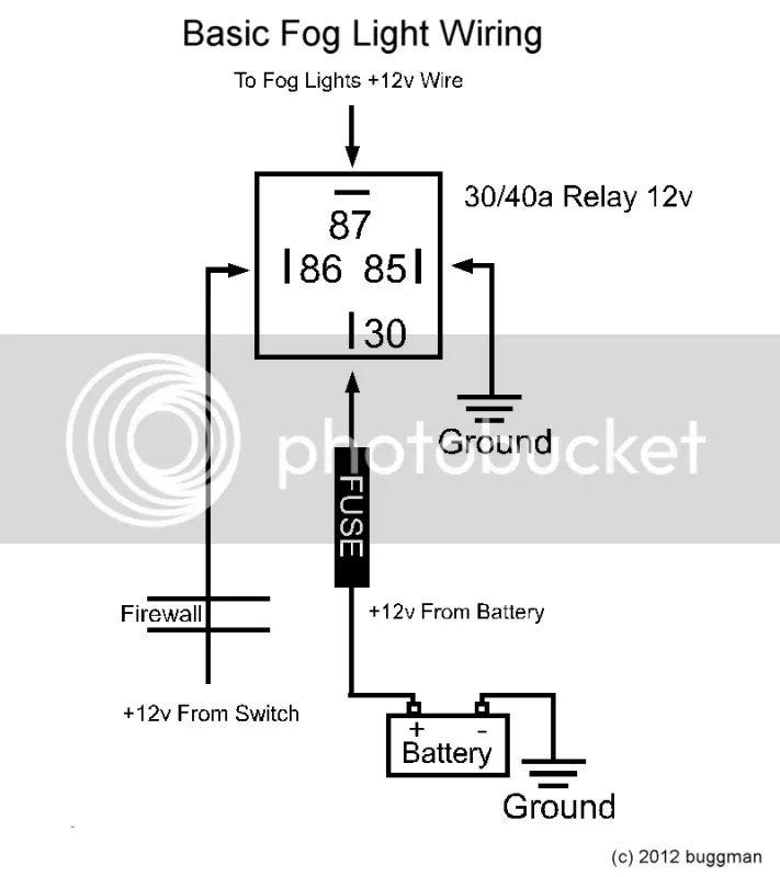 ford ranger fog light switch wiring