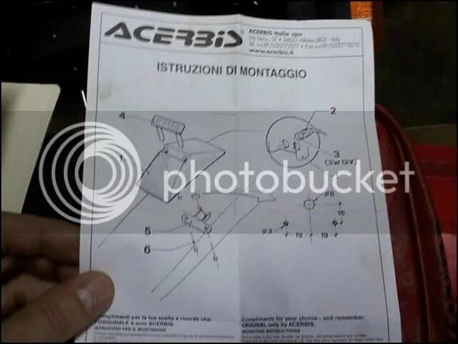 Acerbis Wiring Diagram Wiring Schematic Diagram