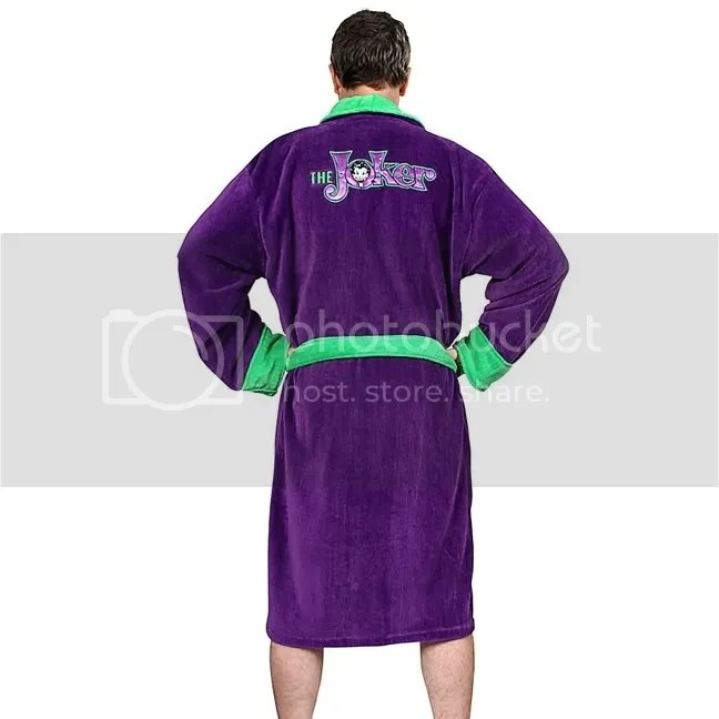 Lila Mantel Joker Dc Comics Joker Luxus Bademantel Batman Mantel Robe Neu | Ebay