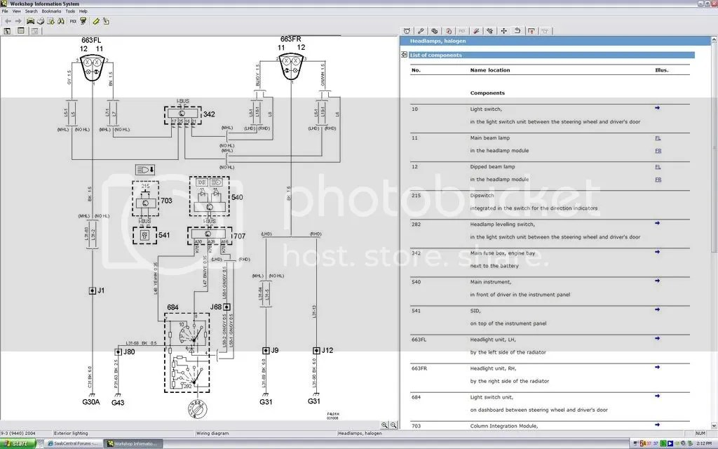 Saab 9 3 2003 Headlight Diagram Wiring Schematic Diagram